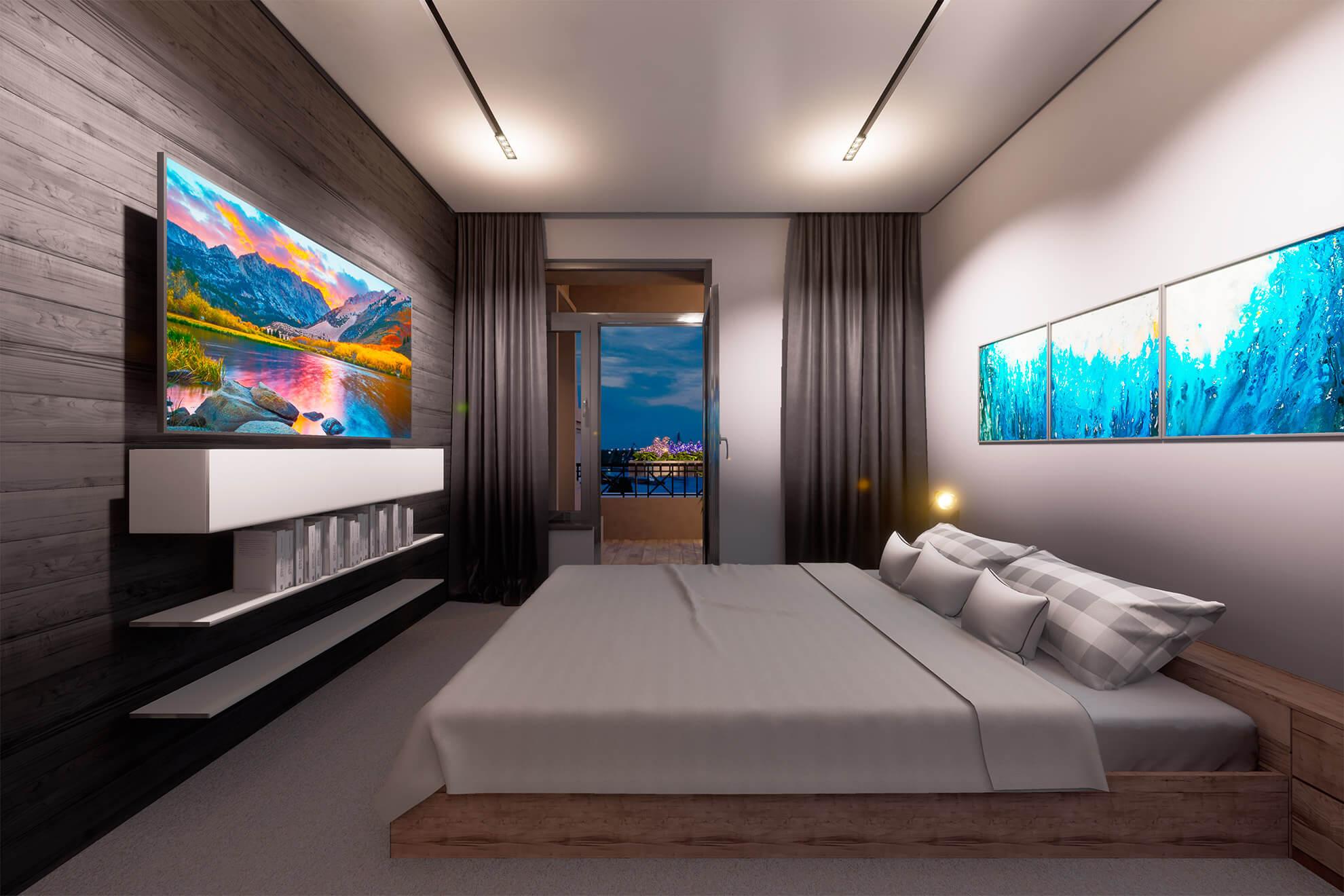 LA MANCHE, архитектурная визуализация, виртуальная реальность